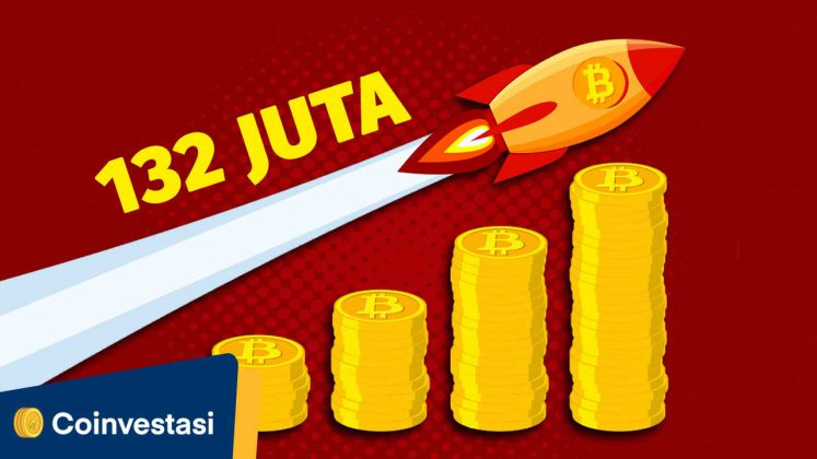 Hari Ini Harga Bitcoin Capai 132 Juta! - Tokocrypto News