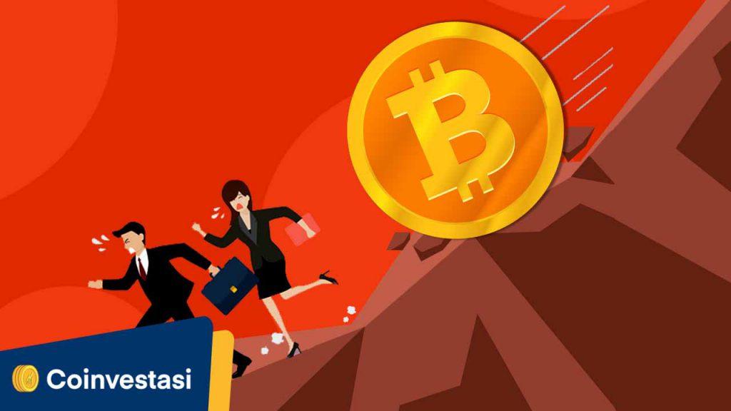 Hari Ini Harga Bitcoin Turun Sebanyak $800! - Tokocrypto News