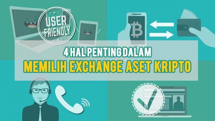 Harus Diperhatikan dalam Memilih Exchange Aset Kripto