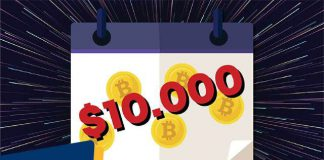 Bitcoin Capai $10000