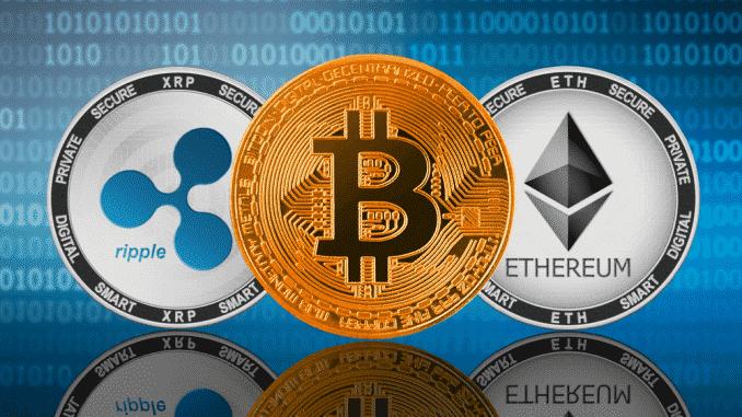 Bitcoin, Ethereum, XRP