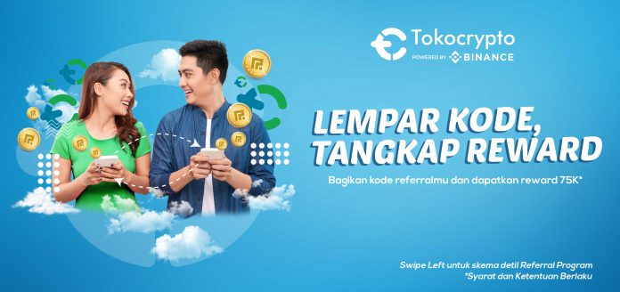 Referral Program Tokocrypto