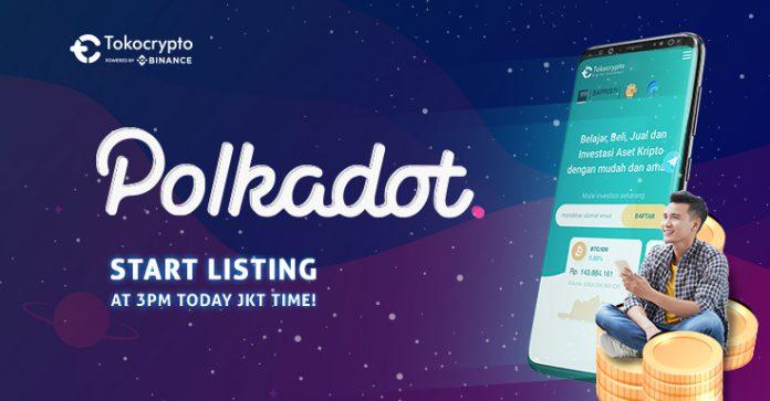 Polkadot (DOT) Hadir di Indonesia Melalui Tokocrypto, Bisa Diperdagangkan dengan BIDR