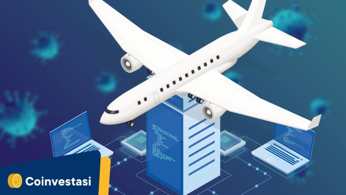 penerbangan gandeng blockchain