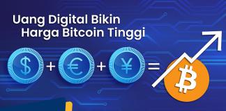 bitcoin melambung