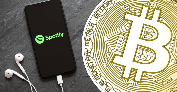 spotify dan bitcoin