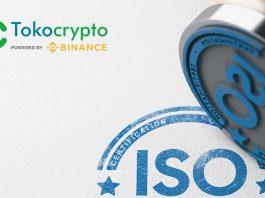Tokocrypto Dapat ISO 27017