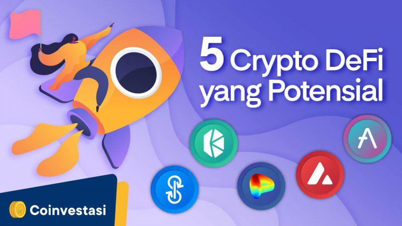 Analis Ternama Sebut 5 Crypto DeFi Ini Sangat Potensial - Tokocrypto News