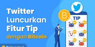 Twitter Luncurkan Fitur Tip dengan Bitcoin